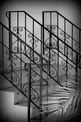 Iron Railing Abstract Poster
