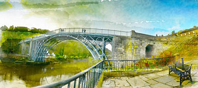 Ironbridge Gorge Poster by Paul Dale