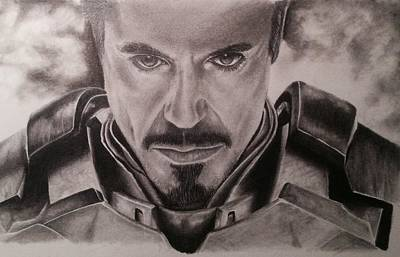 Ironman Poster by Jamie Blackbourn