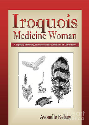 Iroquois Cover Art Poster by Nola Lee Kelsey