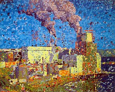 Irving Pulp Mill Poster