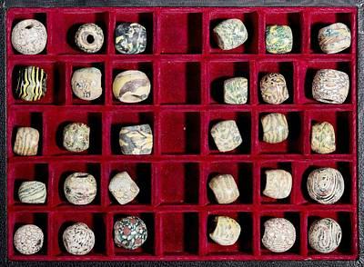Islamic Glass Beads Poster