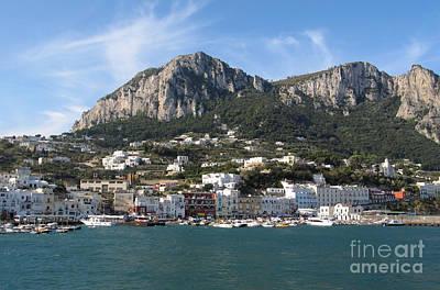 Island Capri Panoramic Sea View Poster