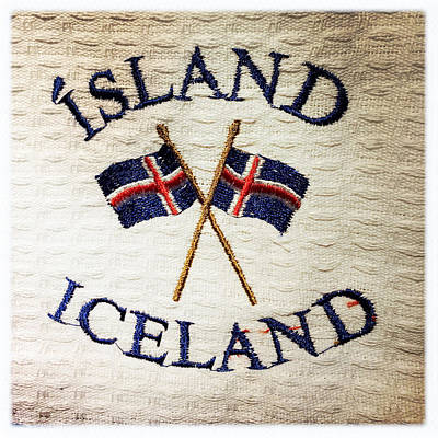 Island Iceland Poster
