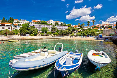Island Of Hvar Turquoise Beach Poster by Brch Photography