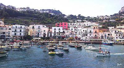 Isle Of Capri Poster