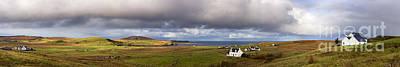 Isle Of Skye Pano Poster by Jane Rix