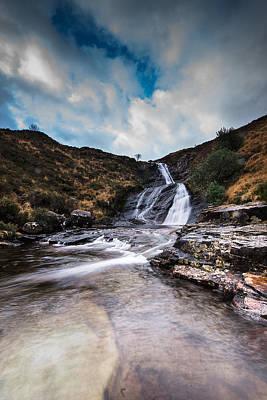 Isle Of Skye Waterfall Poster by Keith Thorburn LRPS