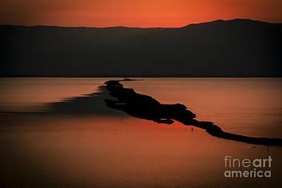 Israel Dead Sea 1 Poster by Dan Yeger