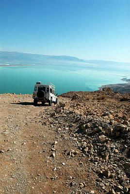 Israel, Judean Desert, Dead Sea Poster by David Noyes