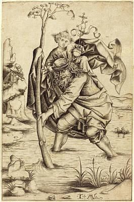 Israhel Van Meckenem After Master Of The Housebook German Poster by Quint Lox