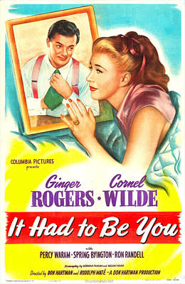 It Had To Be You, Us Poster, Cornel Poster