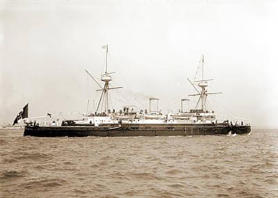 Italian Cruiser Etna, Etna Cruiser, Cruisers Warships Poster by Litz Collection