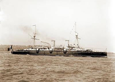 Italian Cruiser Giovanni Bausan, Giovanni Bausan Ship Poster by Litz Collection