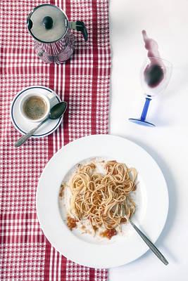 Italian Food Poster by Joana Kruse