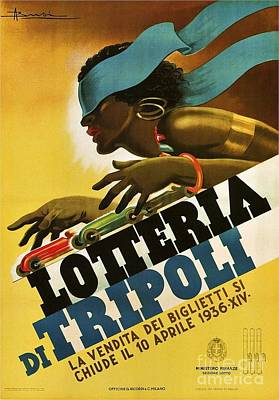 Italian Poster - Lotteria Poster by Pg Reproductions