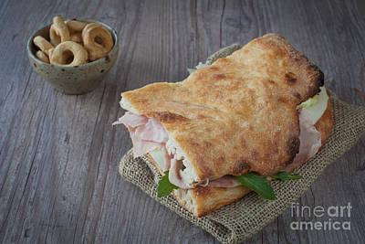 Italian Sandwich Poster by Sabino Parente