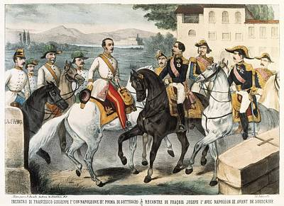 Italian Unification 1859. Meeteng Poster