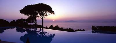 Italy, Campania, Capri, Anacapri, Hotel Poster by Tips Images