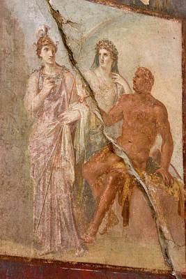Italy, Campania, Herculaneum Poster by Jaynes Gallery