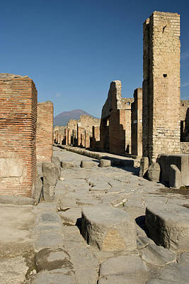 Italy, Campania, Pompeii Poster by Jaynes Gallery