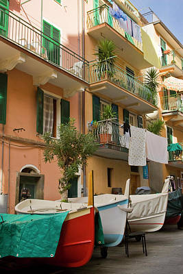 Italy, Cinque Terre, Manarola Poster by Jaynes Gallery