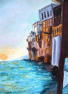 Italy Poster by Doris Cohen