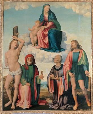 Italy, Emilia Romagna, Ravenna, Bagnara Poster
