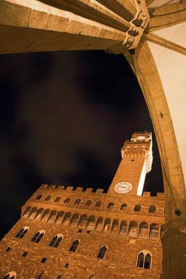 Italy, Florence Palazzo Vecchio Poster