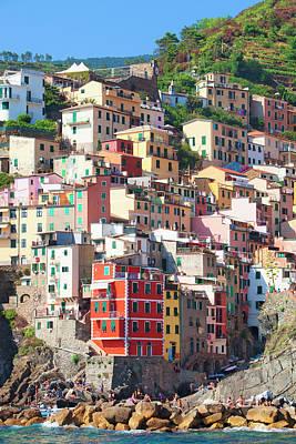 Italy Liguria Cinque Terre Riomaggiore Poster by Panoramic Images