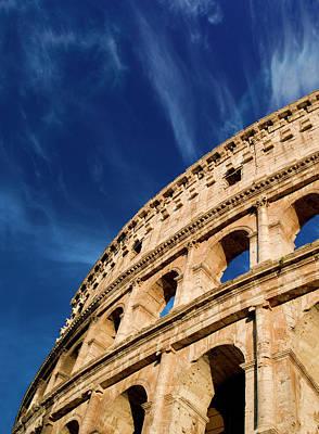 Italy, Rome, Roman Coliseum Poster by Miva Stock