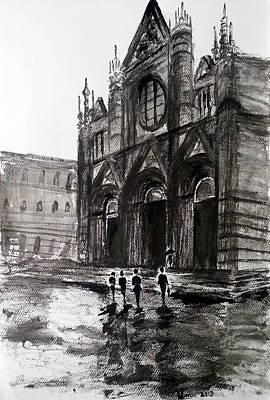 Italy Series 12 Poster by Uma Krishnamoorthy