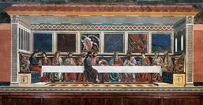 Italy, Tuscany, Florence, Former Santa Poster by Everett