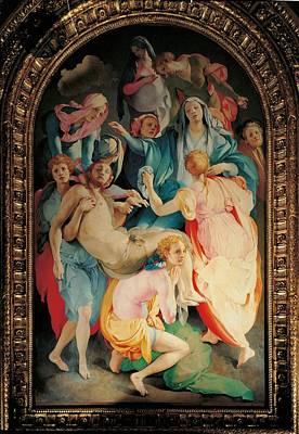 Italy, Tuscany, Florence, Santa Poster by Everett