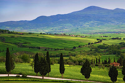 Italy, Tuscany Scenic Of The Tuscan Poster by Jaynes Gallery