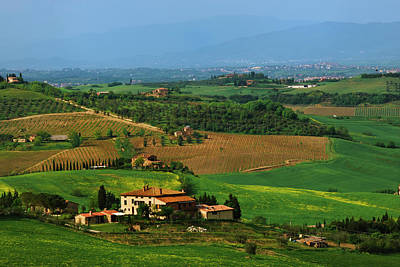 Italy, Tuscany Scenic Of The Val Poster by Jaynes Gallery