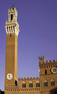Italy, Tuscany, Sienna Poster