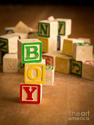 Its A Boy Poster by Edward Fielding