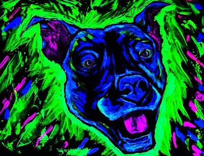 It's A Pitty Black Light Poster