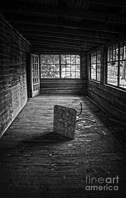 Poster featuring the photograph It's Empty Now by Debra Fedchin