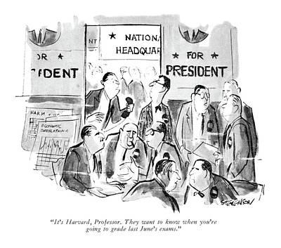 It's Harvard Poster