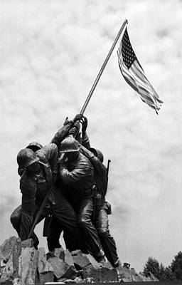 Iwo Jima Memorial Washington Dc Poster