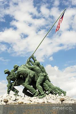 Iwo Jima Monument II Poster