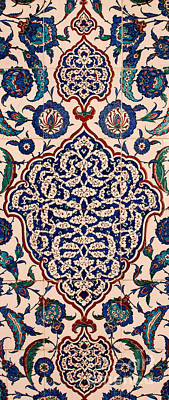 Iznik 04 Poster by Rick Piper Photography