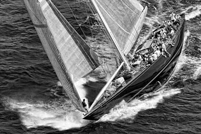J Boat Poster