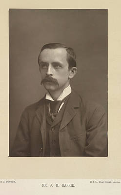 J. M. Barrie Poster by British Library