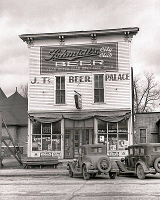 J. T. 's Beer Palace  1940 Poster by Daniel Hagerman