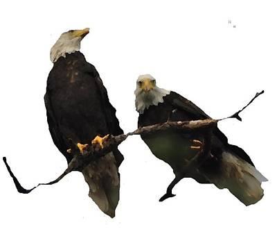 J6942 Broken Winged Bird Collection Poster