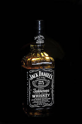 Poster featuring the photograph Jack Daniel's Old No. 7 by James Sage