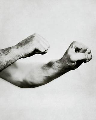 Jack Dempsey's Hands Poster